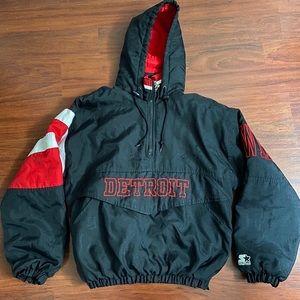 Vintage 90's Detroit Red Wings Starter Jacket